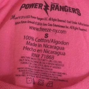 Power Ranger Tops - 👻👻👻 Power Rangers Tee ⚜️ Size Small ⚜️